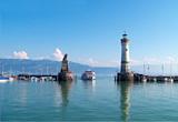 Badevergnügen und Bergerlebnis am Bodensee