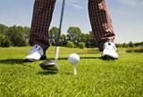 Frischluftvergnügen Golfsport