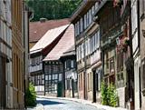 Fachwerkhäuser im Harz
