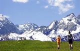 der höchste Berg Deutschlands - die Zugspitze